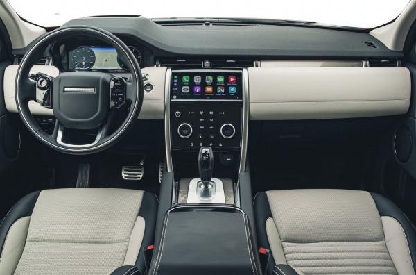 Land Rover Discovery Sport - ездит почти сам