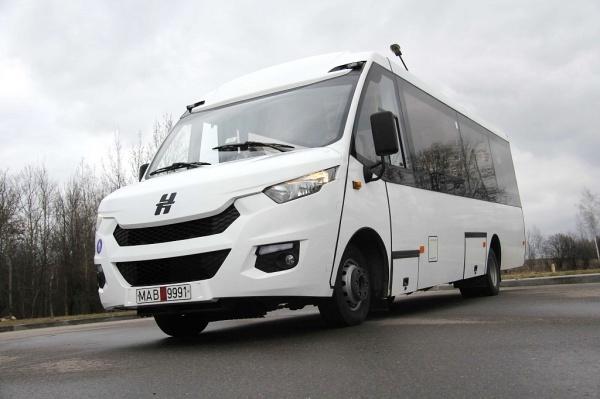 Новые автобусы Неман из Белоруссии